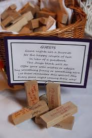 guest signing stones alternative wedding guest book ideas jenga corks wishing
