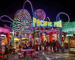 Home Decor Santa Monica Pacific Park Santa Monica Pacific Park Santa Monica Pier Night