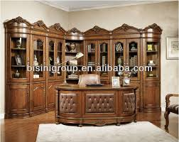 Antique Home Office Furniture by Luxury American Style Office Desk Set Soild Wood Office Furniture