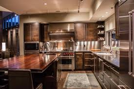 contemporary kitchen with l shaped u0026 flush light in tucson az