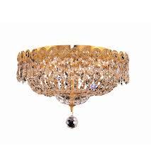 gold flush mount light elegant lighting v1900f14g rc century 4 light 14 inch gold flush