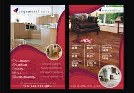 professional modern flyer design for edgemont floors by theziners