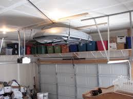 Garage Shelves Diy by Garage Storage Hoist Contractor Kurt