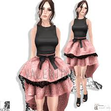 new valentina e spinster party dress for the black tie event
