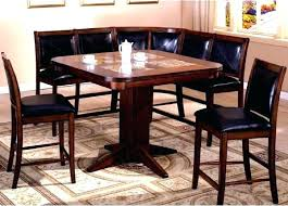 bar style dining table pub dining set with bench bench style dining set dining room table