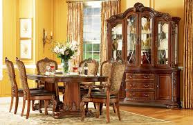 old world dining room furniture hand painted hutches dinning room
