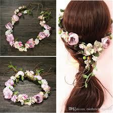 cheap garlands for weddings 2017 newest fashion wedding garlands bridal headband flower crown