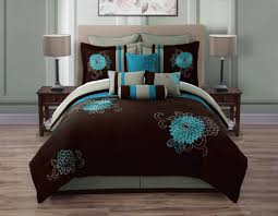 Brown And Blue Bed Sets Brown And Teal Bedding Full Size Of Bedroombump Beds Teal Bed