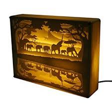 light box light bulbs amazon com papercut light boxes 3d shadow box led decorative mood