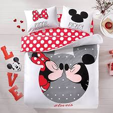 Minnie Mouse Twin Comforter Sets Cutest Mickey Mouse Bedding For Kids And Adults Too