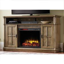 Infrared Electric Fireplaces by Home Decorators Collection Jamerson Manor 60 In Media Console
