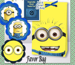 minion gift bags 9 gift bag templates free word pdf psd eps format
