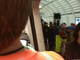 crushed by escalator the women u0027s march on washington pushed metro to its limits