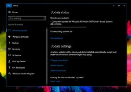 Make For Windows by Microsoft Rolls Out New Cumulative Update For Windows 10 Version