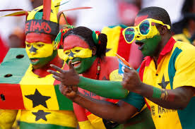 Flag Face Ghana Flag Face Painting For World Cup Fans Football Fans 10