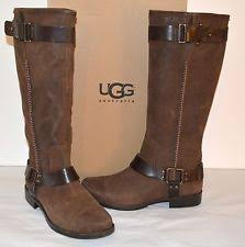 s boots knee high brown s leather knee high boots ebay