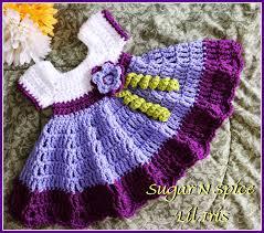 crochet supernova sugar n spice dress free pattern