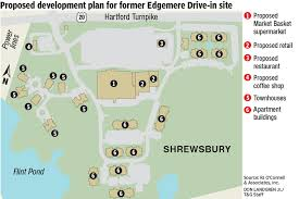 market basket and apartments proposed for edgemere drive in site
