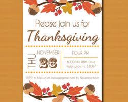 thanksgiving invitation thanksgiving note card quaker