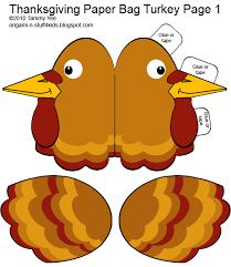 origami n stuff 4 thanksgiving giving thanks paper bag