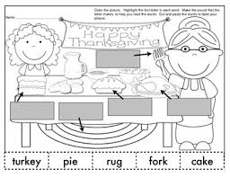 freebie enjoy your thanksgiving labeling activity page