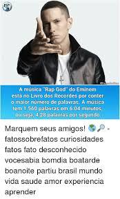 Rap Dos Memes - 25 best memes about eminem and brasil eminem and brasil memes
