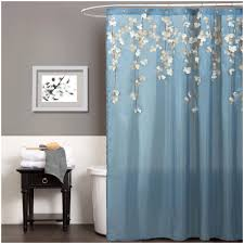Teal Colored Shower Curtains White And Blue Shower Curtains Shower Curtains Design