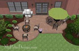 Patio Layouts by Small Backyard Patio Design Layouts And Material List