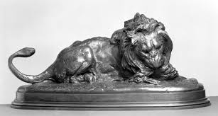 barye lion sculpture file antoine louis barye lion devouring a doe walters 2739 jpg