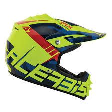troy lee designs motocross helmets acerbis kids helmet impact 3 0 blue fluo yellow 2017 maciag offroad
