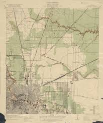 Vintage Maps Old Houston Maps Houston Past