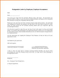 3 employee resignation letter resignition letter