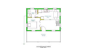 floor plans for cabins 16 x34 with loft plus 6 x34 porch side 16 x 24 floor plan adirondack cabin plans 16 x24 with loft