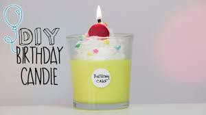 birthday cake candles diy bday cake candle