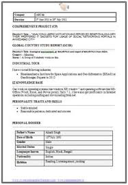 Example Of Resume For Fresh Graduate Information Technology by B Tech Resume Fresher No Experience Free Download 1 Career