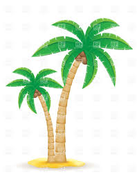 palm tree on the sand vector clipart image 31955 u2013 rfclipart