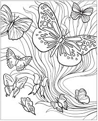 521 best butterflies to color images on coloring books