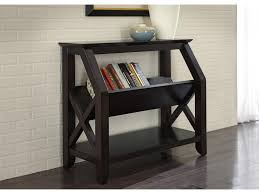 Bookshelf End Table Liberty Furniture Piedmont Bookshelf With Center Magazine Rack And