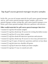 Construction Superintendent Resume Examples And Samples by Golf Course Resume Contegri Com