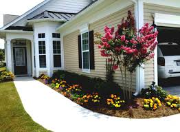 landscaping ideas for front yard in south florida of a mobile home