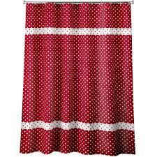 Black And White Polka Dot Curtains Black White Polka Dot Shower Curtain Curtain Menzilperde Net