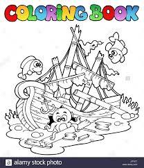 colour paint wreck shipwreck painted ship colouring book sailing