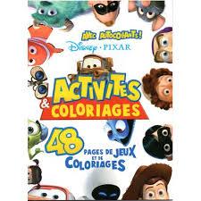 Disney Pixar  Livre Et Coloriage de disney  pixar  Rakuten