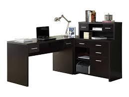 glass computer corner desk office desk black l shaped desk glass l desk corner desk with