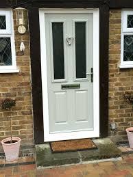 Composite Exterior Doors Front Doors Insulated Exterior Door Impressive With Photo Of