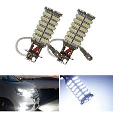 car led lights for sale h3 120 smd 3528 car led white fog light headlight l bulbs sale