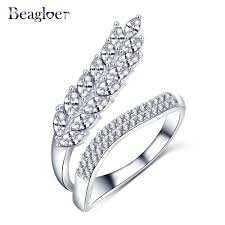 aliexpress buy beagloer new arrival ring gold aliexpress buy beagloer new trendy leaf shape ring gold