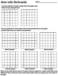 area and perimeter worksheets and games by teaching mrst tpt