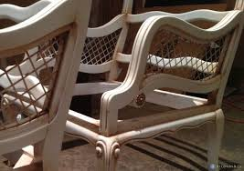 recovering furniture or reupholstering
