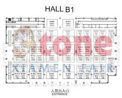 floor plan china xiamen international stone fair